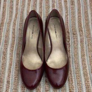 Bandolino red heels size 9